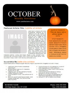 Create A Quarterly BC Newsletter Newletter